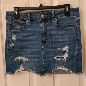 American Eagle Denim Mini Skirt